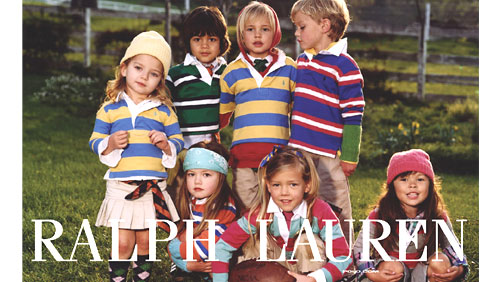 Polo ralph lauren some are very ralph lauren children ads for Ralph lauren kids
