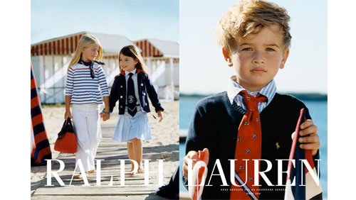Ralph lauren flashback the pursuit of style for Ralph lauren kids