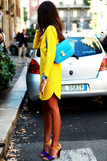 Viviana Volpicella yellow and turquoise