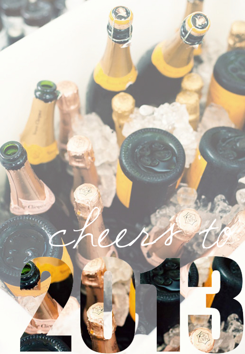 Cheers to 2013!