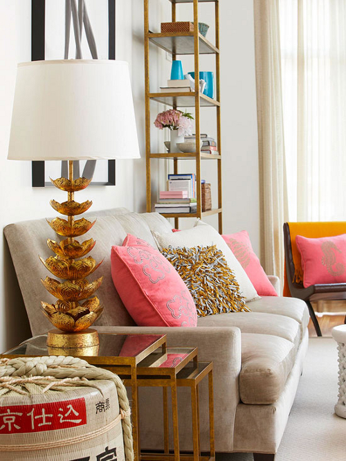 The Pursuit of Style | Lotus Lamp | BHG