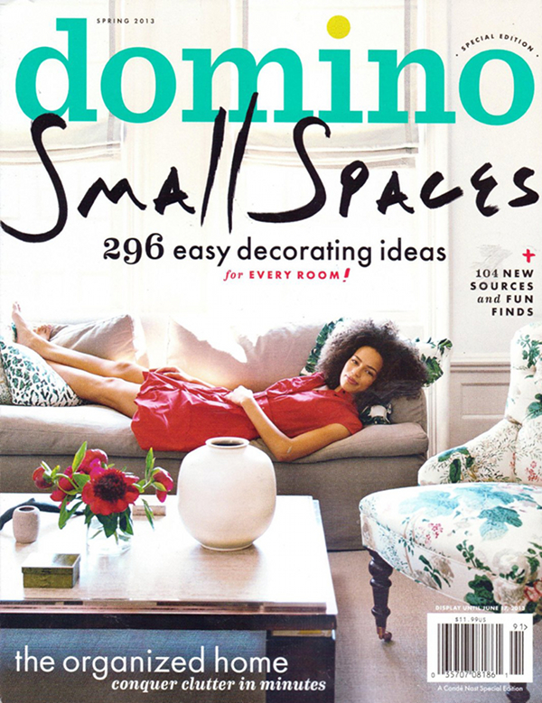Domino Magazine Small Spaces Spring 2013