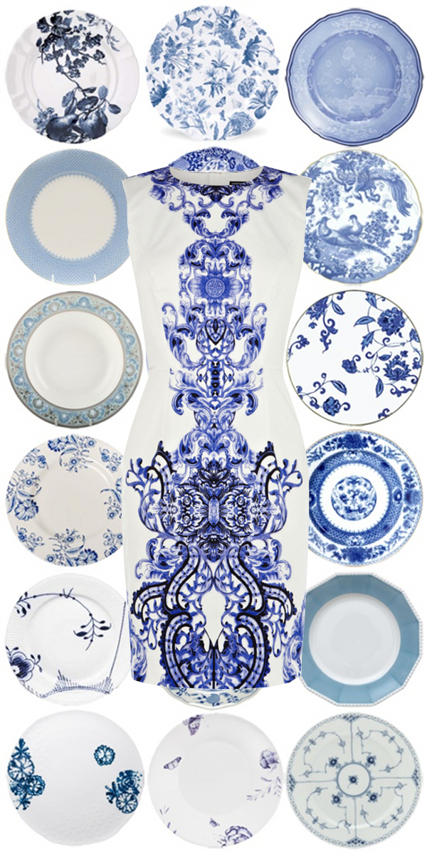 Blue and White | The Pursuit of Style