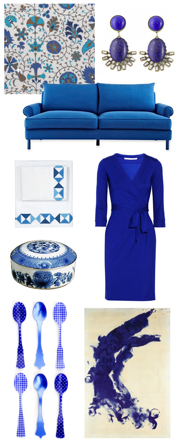 Dazzling Blue | The Pursuit of Style