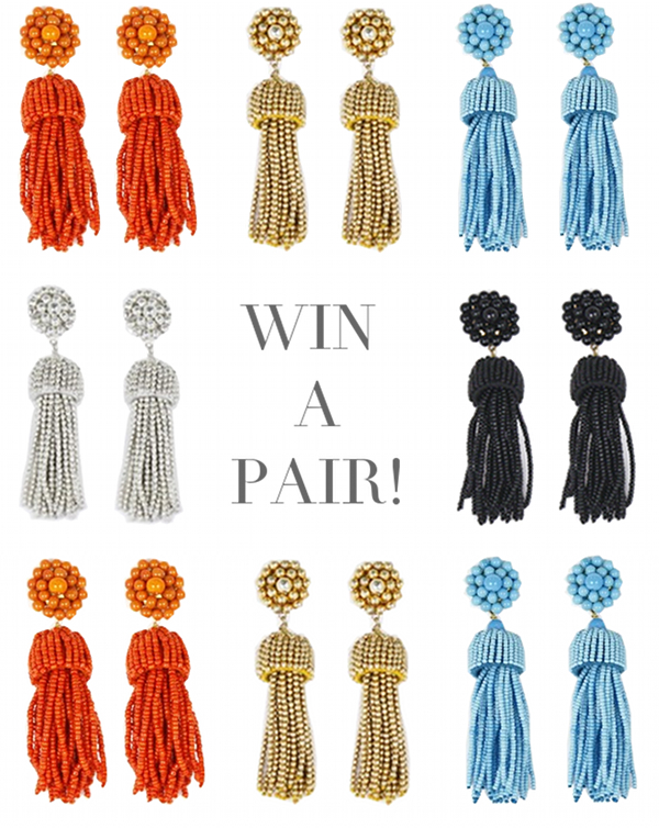 Lisi Lerch Tassel Earrings | The Pursuit of Style