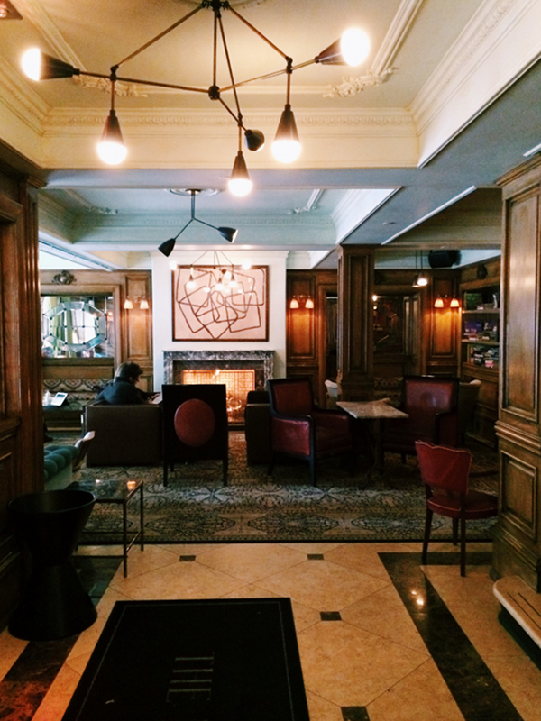 The Marlton Hotel Lobby NYC