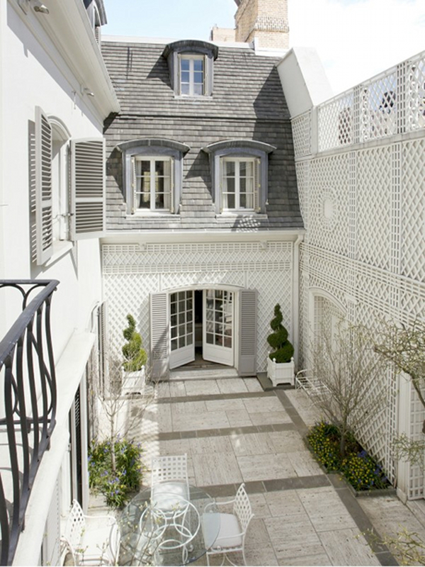 Remembering bunny mellon the pursuit of style for Nyc townhouse with garage