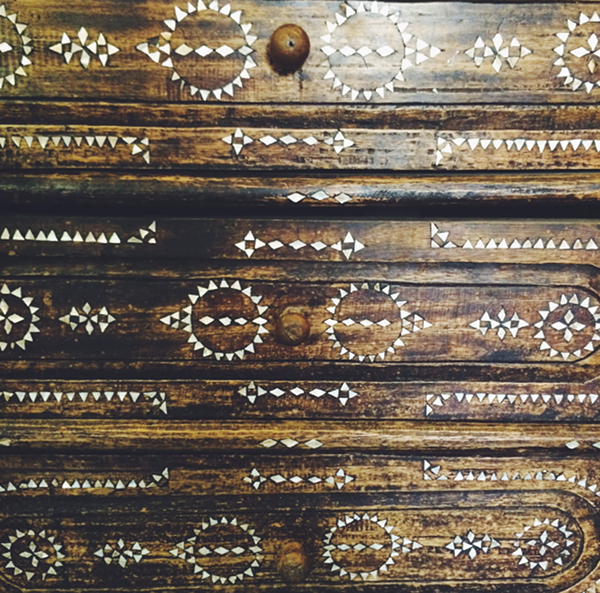 antique inlaid dresser | The Pursuit of Style
