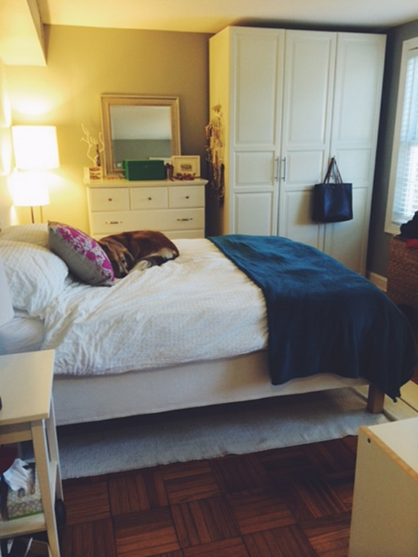 One Room Challenge Before   The Pursuit of Style