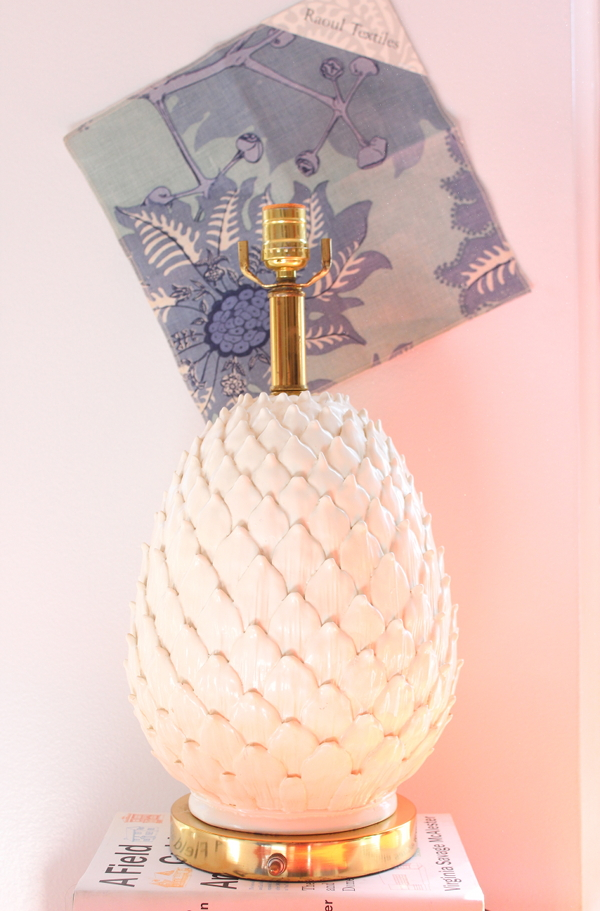 Artichoke Lamp | Lindsay Speace Interior Design
