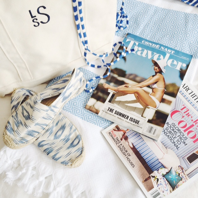 The Pursuit of Style | beach bag
