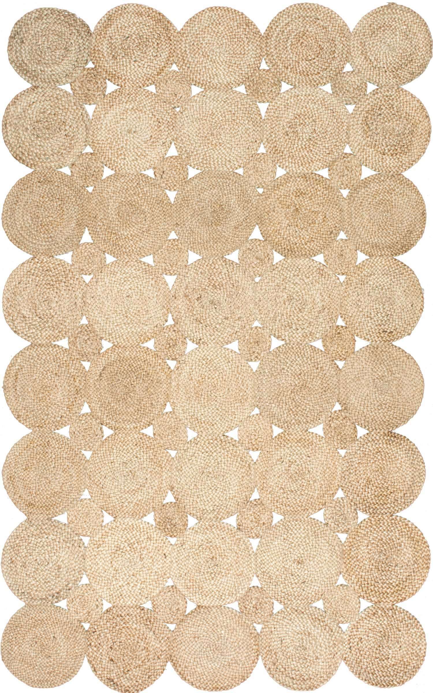 Designer Dupe Jute Circles Rug The Pursuit Of Style