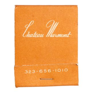 Chateau Marmont Matchbook