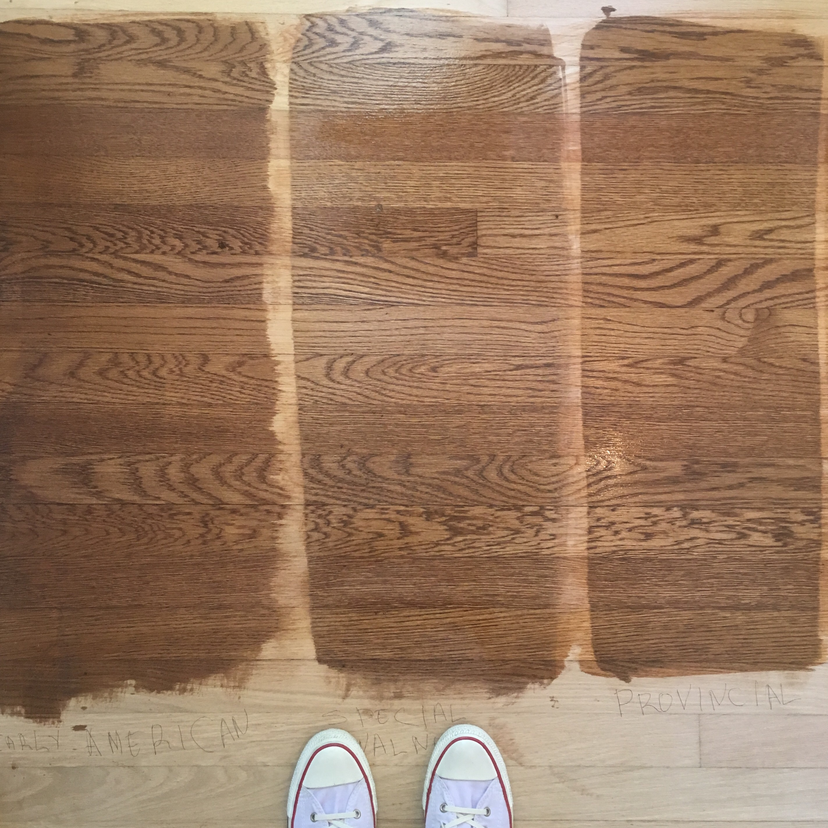 Floor Stain Options | Lindsay Speace Interior Design