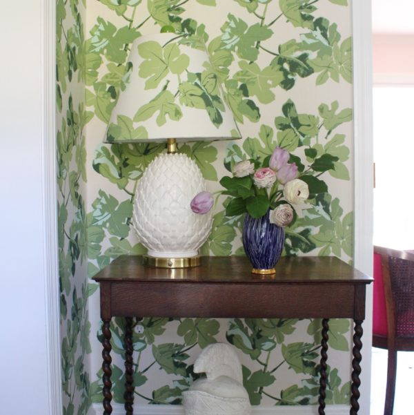 Fig Leaf Upholstered Walls